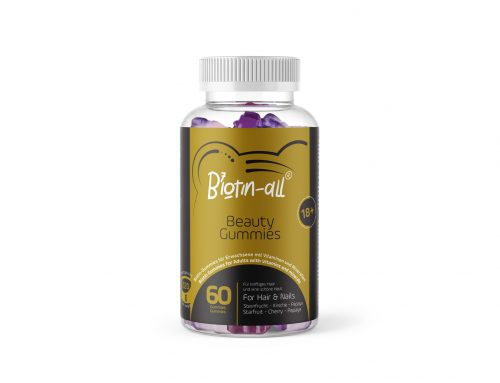 Biotin-All® is our latest developed Brand. The cherry on Top of the cake.